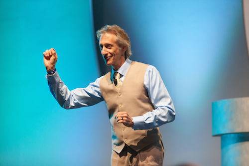 """""""Amazing"""" keynote at global sales conference!"""